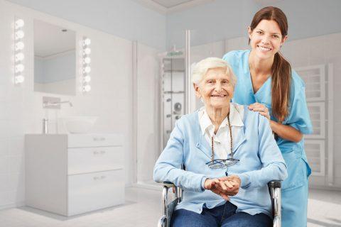 Gute Frage: Pflegeheim oder Pflege zu Hause?